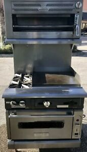 Vulcan Natural Gas 36 2 Burner With 24 Griddle Convection Oven