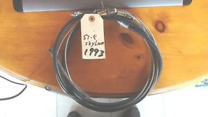 Nos 1957 1958 Ford Fairlane 500 Skyliner Retractable Pair Of Rear E Brake Cables