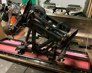 7 5 Western Unimount Straight Blade Snow Plow With Attachments