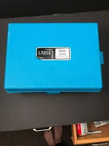 Vintage Kimble Labset 33800 19 22 With Case