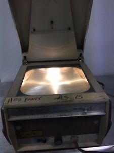 Rare Vintage Thermo fax 3m Overhead Projector Model 43 Ag