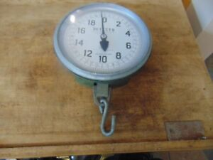 Vintage Antique Scale Detecto Lb Pounds 5845