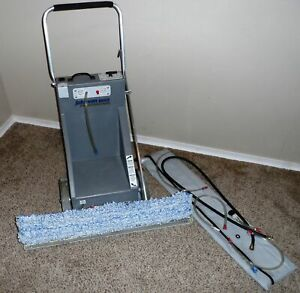 Johnson Wax Pro Jp Jwp 1474 Floor Wax Push Cart W sweeper Assembly