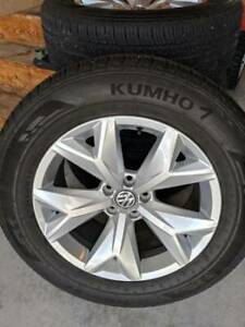 Kumho Crugen Premium All Season Tires 245 60r 18 Set Of 4