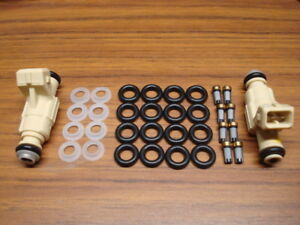99 04 Land Rover Range Rover Discovery V8 Fuel Injector Replacement Parts Kit