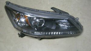 2013 2014 2015 Honda Accord Sedan 4 Door Headlight Right Side Oem Good Mounts