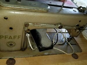 Vintage Pfaff Kaiserslautern Commercial Upholstery Sewing Machine