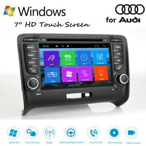 Wince 6 0 Hd Car Stereo Radio Dvd Gps Player For Audi Tt 7 Touch Screen