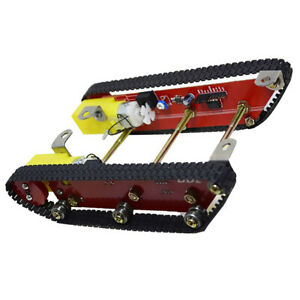 Smart Tank Robot Tracked Crawler Chassis Diy Car Robotic Learning