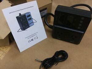 Bayite Digital Temperature Controller 1650w Btc211 With Thermo Probe And Outlet