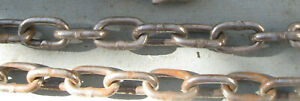 20 Ft X 1 4 Heavy Duty Tow Logging Rigging Chain Priority Shipping
