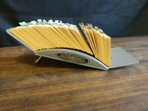 Vintage Zephyr American Metal Rolodex File Jr Model V524j La
