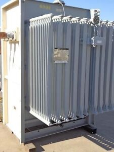 Ge 2000 2576 Kva Substation Transformers