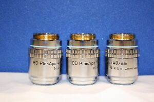 High Quality Nikon Bd Plan Apo 40 0 80 Microscope Objective