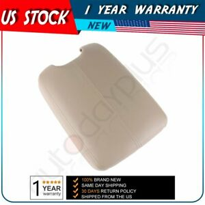 Fit 2008 12 Honda Accord Model Arm Rest Center Console Lid Cover With Base Beige