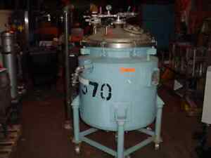 55 Gallon 304 Stainless Steel Jacketed Pressure Tank Reactor 1 4 Inch Thick