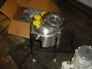 3 Liter 316 Stainless Steel Jacketed Reactor 150 Psi