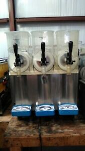Carpigiani 3 Bowl Slushie Machine Granita slushie margarita Machine