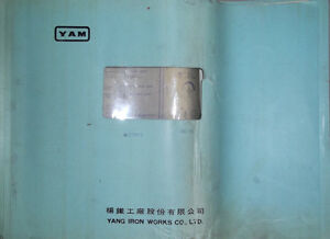 Yam Yang Iron Works Cnc 5a With Fanuc 6mb Electrical Drawings Manual