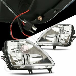 For 2001 2005 Mitsubishi Eclipse Halo Projector Headlights Chrome Housing Lamp