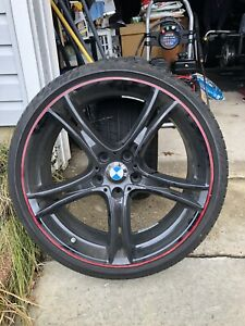20 Inch Bmw Rims With Tires 4 Total