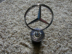 Mercedes Benz C E S Class Star Hood Ornament Emblem Oem Used