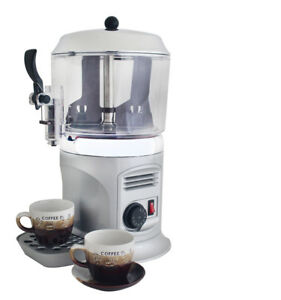 Silver 110v 5l Hot Chocolate Coffee Beverage Drinking Machine Hot Chocolate Shot