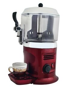 Serve 110v Red 5l Hot Chocolate Dispenser Machine Hot Beverage Machine Ce Rohs