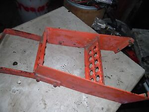 Case 2090 Tractor Steps To Cab