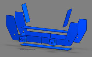 18 Mustang Ii Suspension Plans Hot Rod Street Rod 3d Blueprints Front End