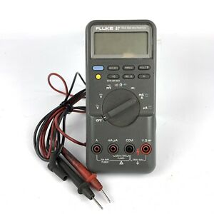 Fluke 87 True Rms Multimeter With Leads