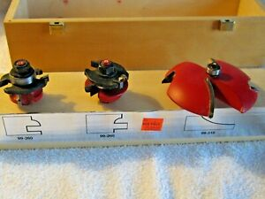 Retail 255 Freud Professional Woodworking Router Bit Set Made In Italy 97 102