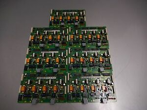 Lot Of 7x Toshiba Strata Rcos1a V 1 4 circuit Loop Co Line Start Cards