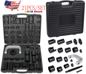 Universal Master Ball Joint Press U Joint Service Adapter Removal Tool Kit Case