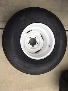 Steel Wheels 15 X14 5x5 5 Ford Style With Mickey Thompson Ssr Tires 31x16