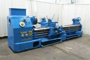 32 X 124 Hes Engine Lathe With Hydraulic Tracer Yoder 61478