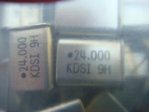 Lot 200 24 000 Mhz Kds Crystals New And Unused