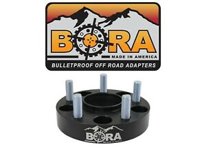Jeep Liberty Cherokee 1 00 Wheel Spacers 2 By Bora Off Road Made In The Usa