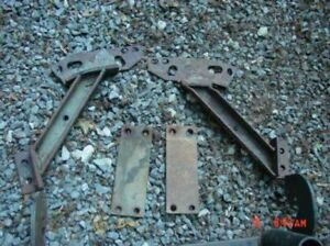 1972 93 Dodge Meyer Snow Plow Mount Bracket Ezy Tube Hard To Find