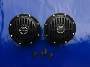 Bosch Horns 12v Fits Porsche 356 911 Mercedes Vw Beetle Karmann Ghia German Car