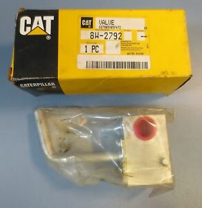 Caterpillar Cat Valve 8w 2792 Genuine Part New Old Stock free Shipping