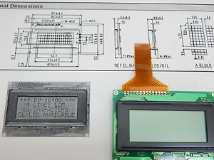 Dv 16400s2rb Lcd 16x4 4 Lines 16 Characters Display Usa Fast Ship 2 Pieces