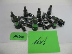 Matco Silver Eagle Tools Torx Security Torx Sockets Sold Each New