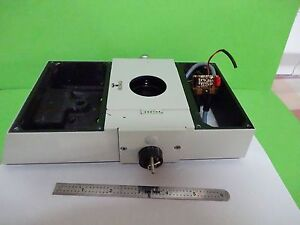 Microscope Part Polyvar Reichert Leica Top Confocal Optics As Is Bin w2 03