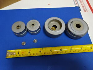 Microscope Part Stage Brass Knobs For Reichert Austria Polyvar As Is 66 a 05