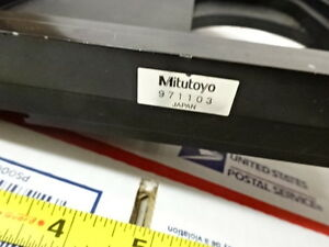 Stage Specimen Table Micrometer Microscope Spare Mitutoyo Ultraplan As Is B tb 1