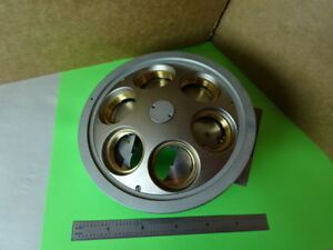 Microscope Part Reichert Polylite Nosepiece Assembly Without Optics 84 a 26
