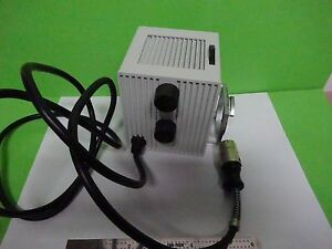 Microscope Part Leitz Germany Lamp Vertical Illuminator Optics As Is Bin w7 94