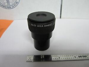 Optical Microscope Polyvar Reichert Leica Eyepiece 10x 23 Optics Bin a3 h 3