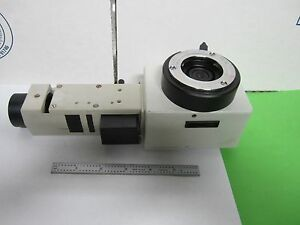 Microscope Leitz Germany Lamp Vertical Illuminator 1 0x Optics As Is Bin p3 05